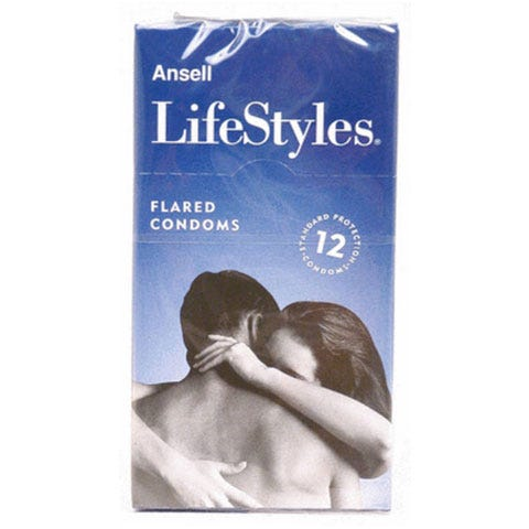 Image of Ansell Lifestyles Regular 12 Pack