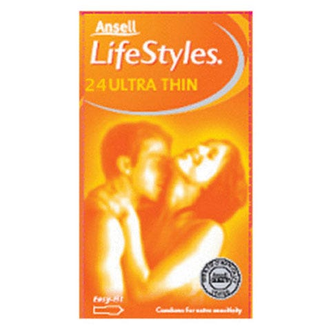 Image of Ansell Lifestyles Ultra Thin 24 Pack