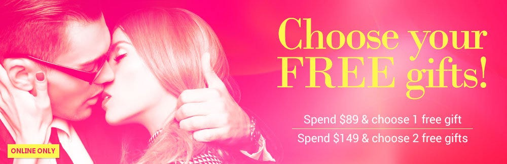 Choose your FREE gifts!