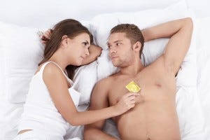 Men don't want to wear condoms